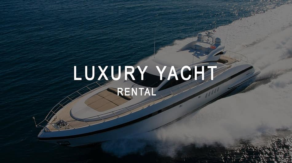 Yacht for rent in Saint-Tropez