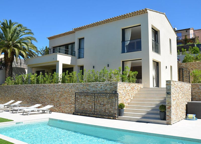 Location Villa Contemporaine St Tropez